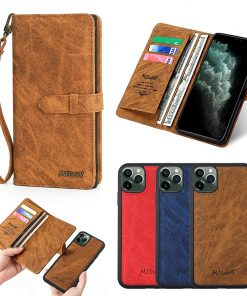 MEGSHI is suitable for iPhoneXSMax mobile phone shell Apple 11 multi-function 7/8 mobile phone leather case NOTE10plus