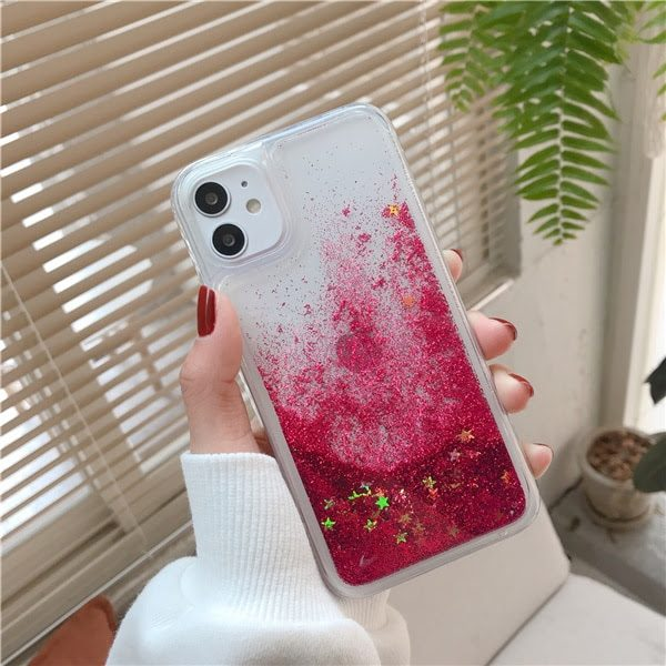 coque telephone 11 (6.1 inch) Rose Red Star
