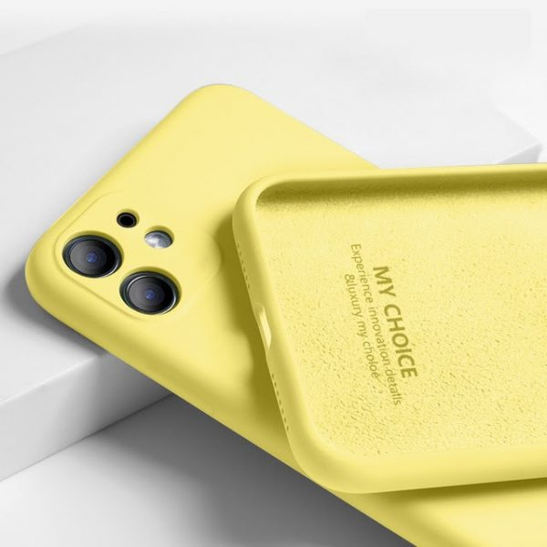 coque iPhone11 Pro Max Lemon Yellow