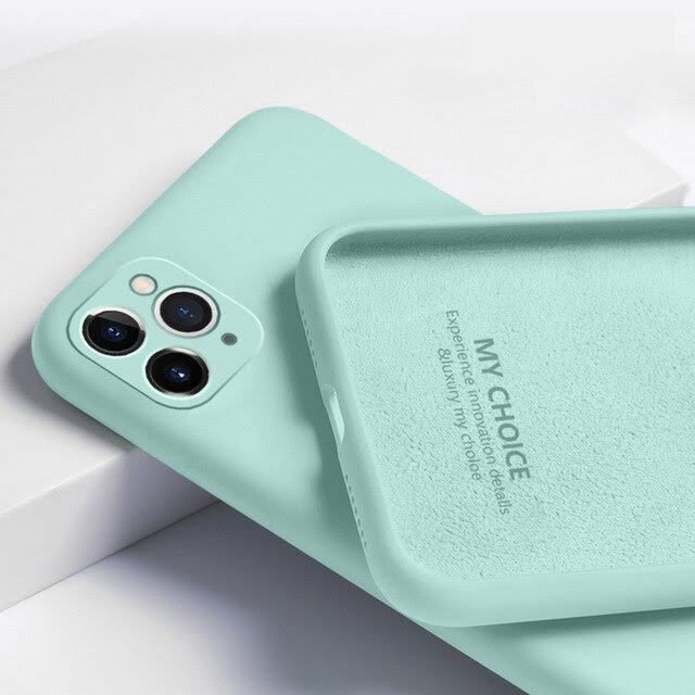 coque iPhone11 Pro Max Light Cyan