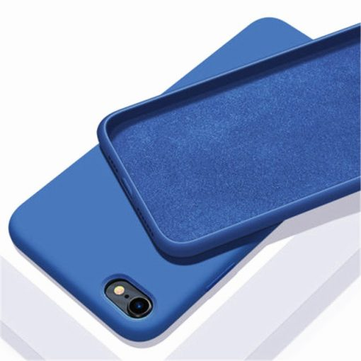 coque telephone iPhone12Mini 5.4 Bleu