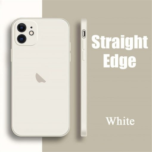 coque telephone iPhone12Pro Max white