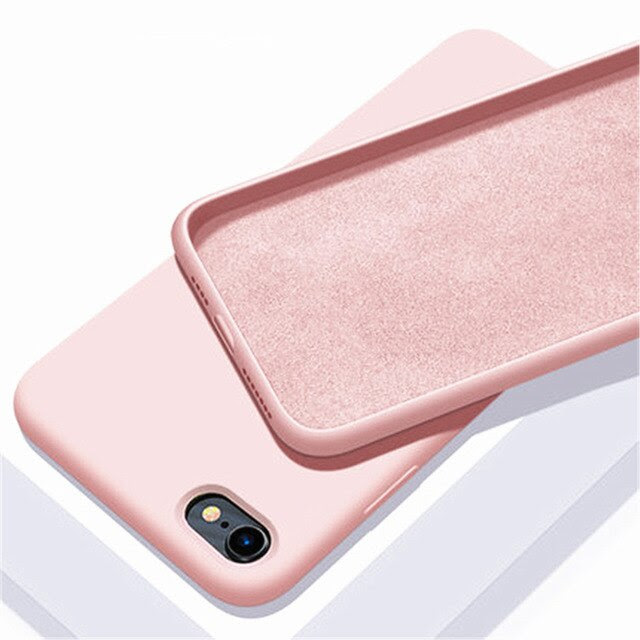 coque iPhone12ProMax6.7 Rose