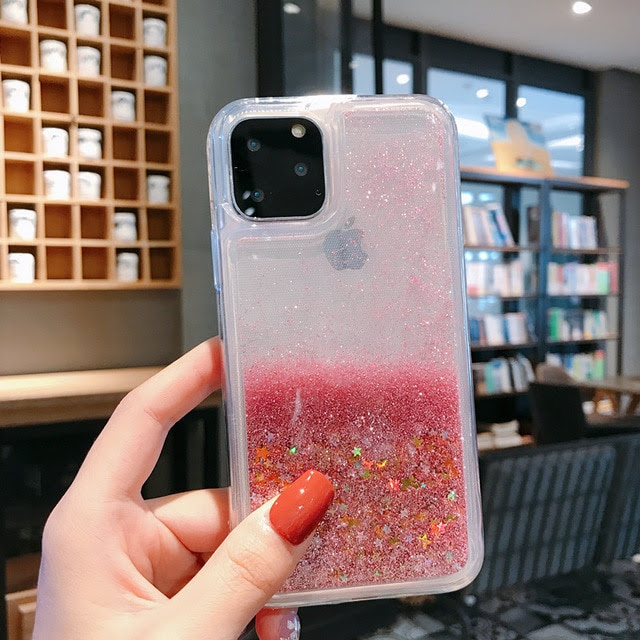 coque iPhone12pro 6.1 Star Pink