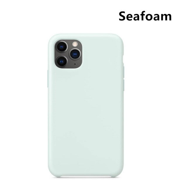 coque telephone iPhone Xs Seafoam
