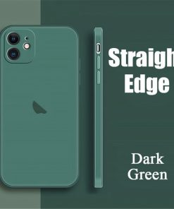 coque telephone iPhone11Pro Max Dark Green