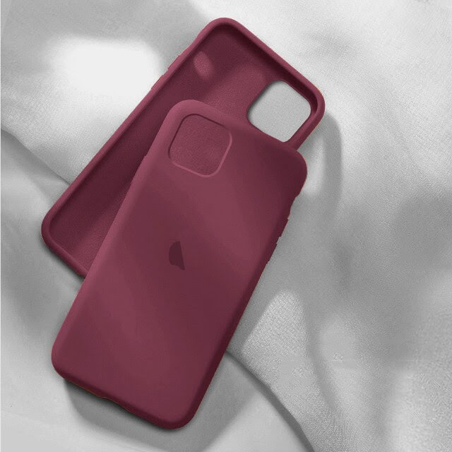 coque telephone iphone12 Pro Max 2 Plum