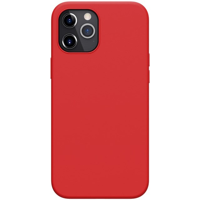 coque téléphone for iPhone12 Pro Max flex red