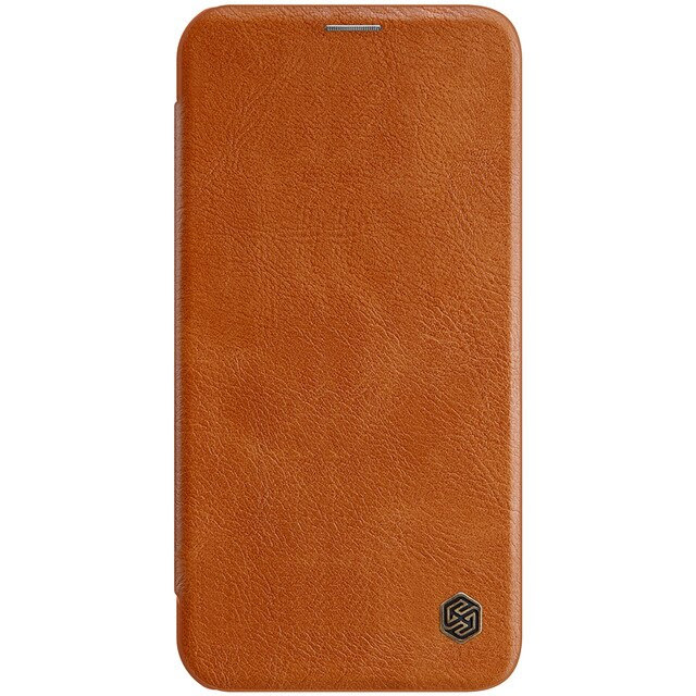 coque téléphone for iPhone12 Pro Max qin brown