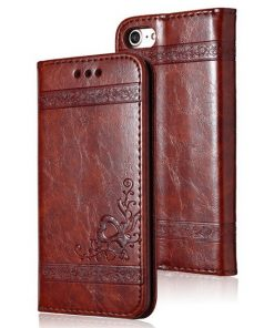 coque téléphone for iphone 8 wine red